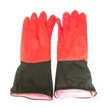 دستکش لاستیکی دو رنگ